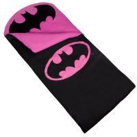 Olive Kids Batman Pink Emblem Sleeping Bag