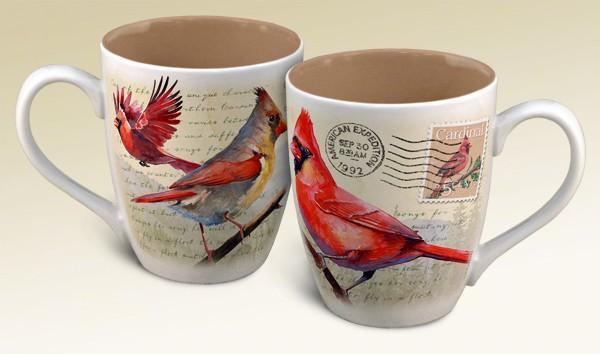 American Expeditions Cardinal Postcard Coffee Mug