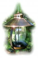 Woodlink Brushed Copper Lantern Bird Feeder