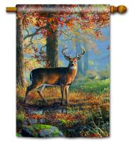 Magnet Works Deer Standard Flag
