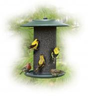 Woodlink Green Steel Magnum Thistle Bird Feeder
