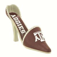 Evergreen Enterprises Texas A and M Decorative Shoe Wine Bottle Holder