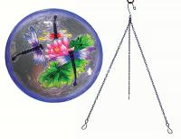 Songbird Essentials SE5016 Dragonfly Trio Hanging Birdbath