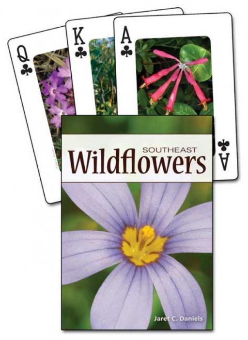 Adventure Publications Wildflowers of the Southeast Playing Cards