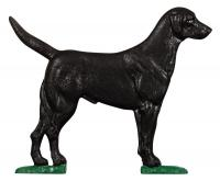 Large Bell with Black Lab - Color