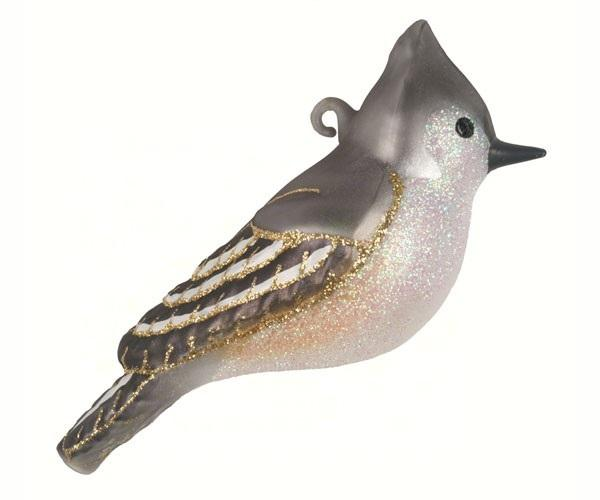 Cobane Studio Tufted Titmouse Ornament