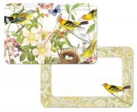 Counter Art Botanical Birds Reversible Placemat