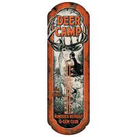 Deer Camp Tin Thermometer