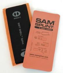 """Aloe Gator 9"""" Sam Splint, Flat Fold"""
