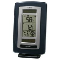 La Crosse Technology Solar Powered Wireless Temperature Station and Sensor