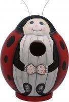 "Songbird Essentials Ladybug ""Gord-O"" Birdhouse"