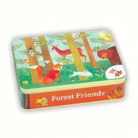 Chronicle Books Forest Friends Puzzle 100 pcs