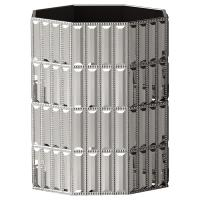 Nu Steel Glitz Chrome Wastebasket