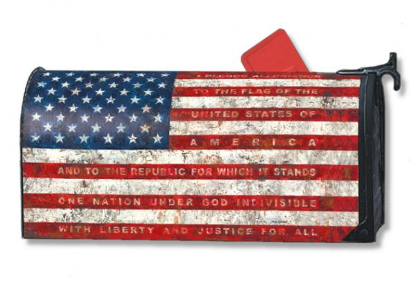 Magnet Works Pledge of Allegiance MailWrap