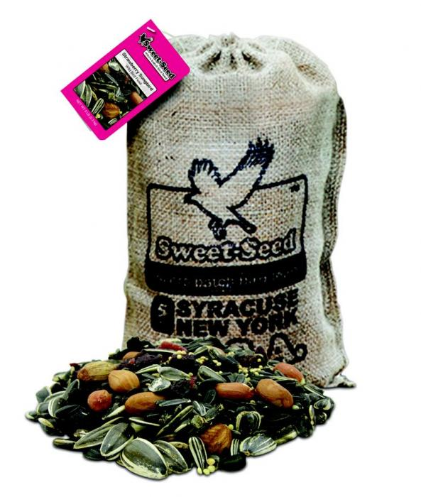 Sweet-Seed Strawberry Songbird 5Lbs. Ultra-Premium Bird Feed Blend