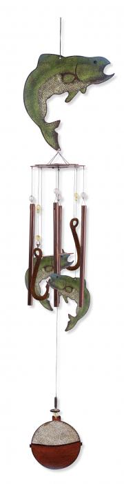 """Sunset Vista Designs Catch of the Day 36"""" Fish Chime"""