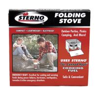 Sterno Single Burner Folding Stove