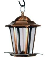Woodlink Audubon Series Copper Carriage Lantern Bird Feeder