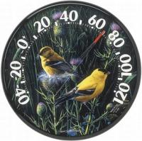 AcuRite Audubon Collection Goldfinches II Thermometer