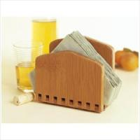 Lipper Bamboo Adjustable Napkin Holder