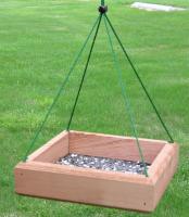 Songbird Essentials 9 x 9 Hanging Tray Feeder