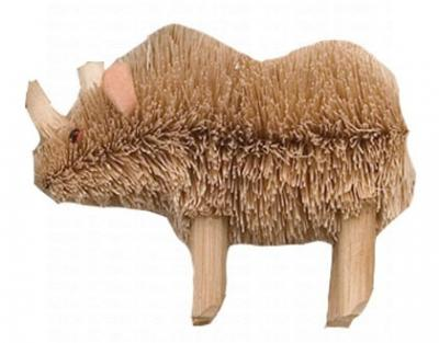 Brushart Rhinoceros Ornament