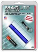 MagLite - Solitaire Flashlight Purple Hanging Pack