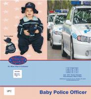 Dress Up America Baby Police Officer - 0-9m