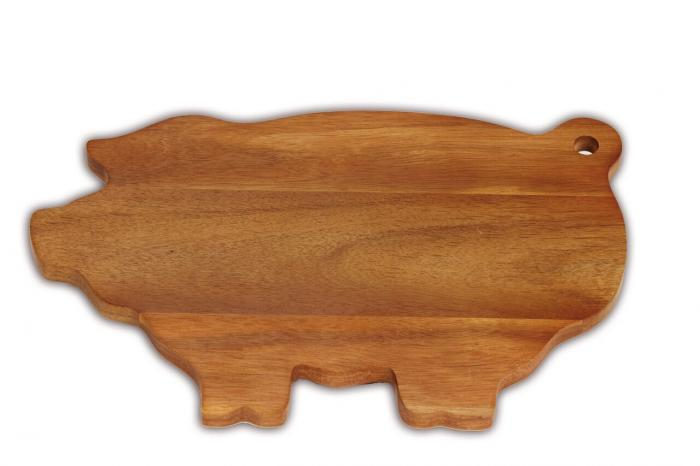 Picnic Plus Pig Shaped Cheese Board