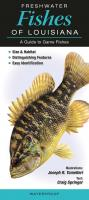 Quick Reference Publishing Freshwater Fish of Louisiana