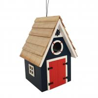 Home Bazaar Dockside Cabin Birdhouse - Blue