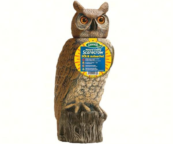 Dalen Products Solar Activate 18 inch Owl