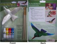 The Clark Collection Hummingbird Fly Thru Bird Paint Kit