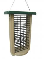 Bird's Choice Double Cake Suet Feeder w/Base