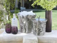 Zodax Artisan Aluminum Ice Bucket with Scoop