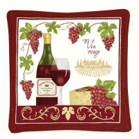 Alice's Cottage Vin Rouge Single Mug Mat