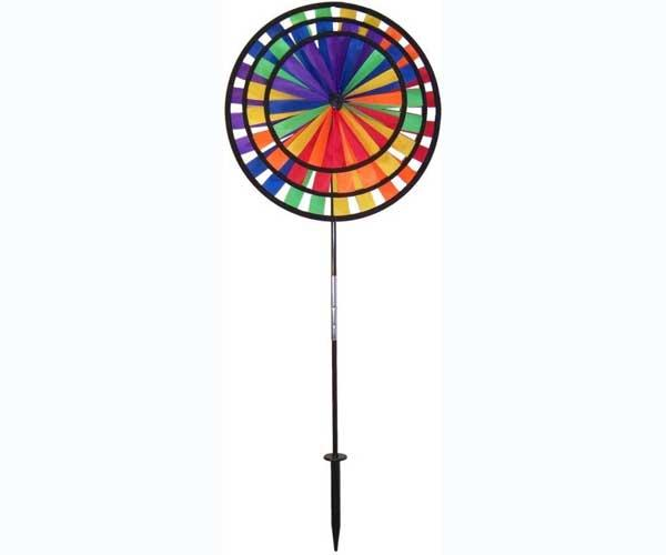 In The Breeze Rainbow Triple Spinner
