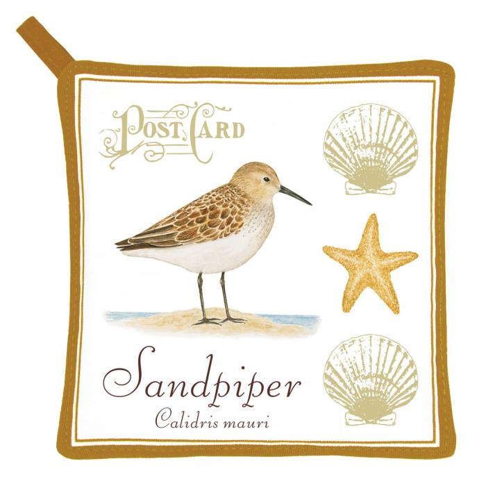 Alice's Cottage Sandpiper Potholder