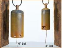 """Patina Products 6"""" Chinese Symbols Garden Bell"""