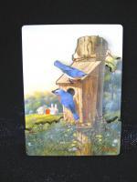 Songbird Essentials Magnet, Summer Bluebirds