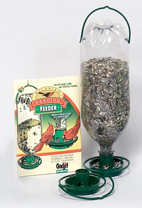 Gadjit Hanging Bird Feeder Green