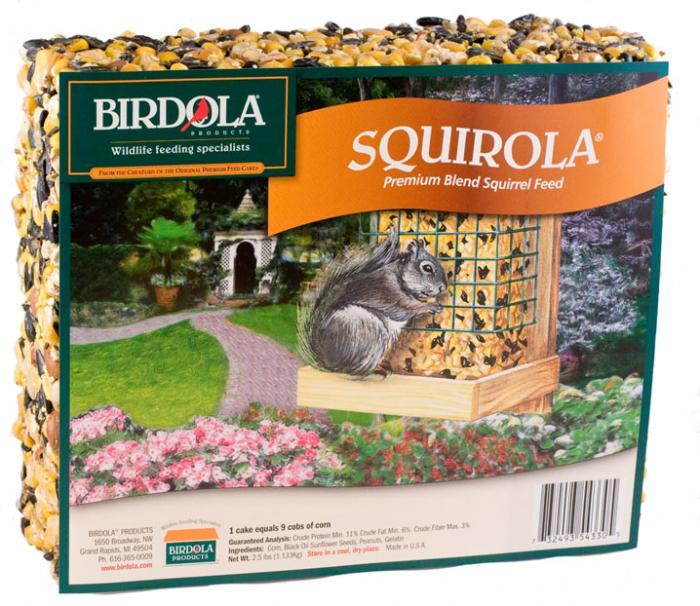 Birdola Products Squirola Cake