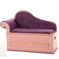 Levels of Discovery Princess Fainting Couch w/Storage