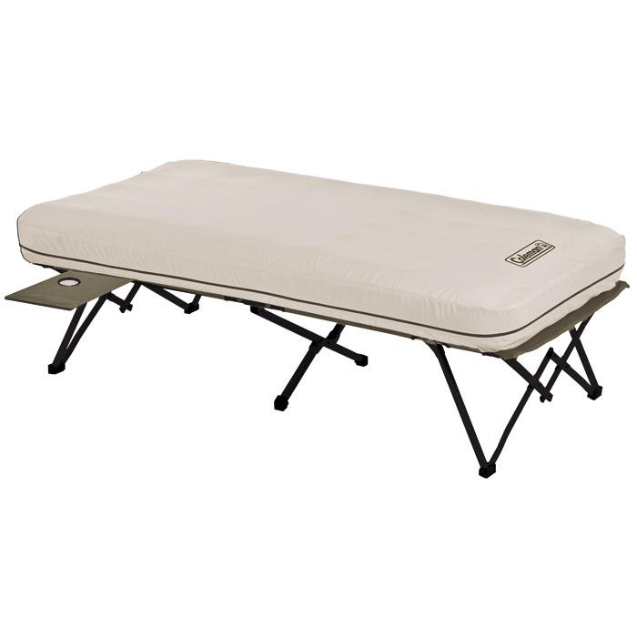 Coleman Twin Cot with Airbed