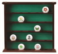 Premium 25 Golf Ball Display Cabinet Clubhouse Collection