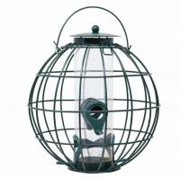Backyard Essentials Petite Orb Caged Seed Feeder