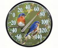 AcuRite James Hautman 12 1/2 inch In/Outdoor Bluebird Thermometer