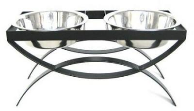 SeeSaw Double Elevated Dog Bowl - Large