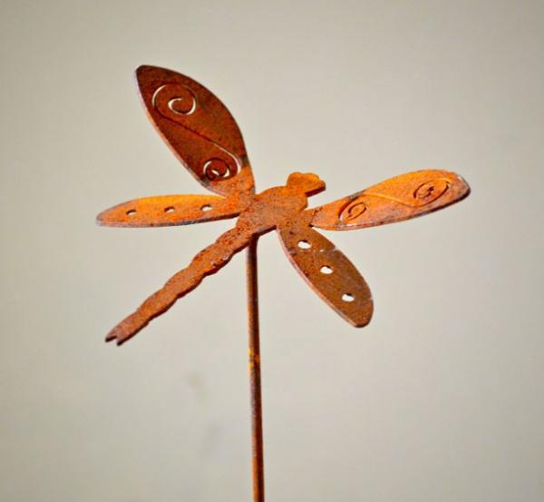 Elegant Garden Design Dragonfly Pick (set of 3)