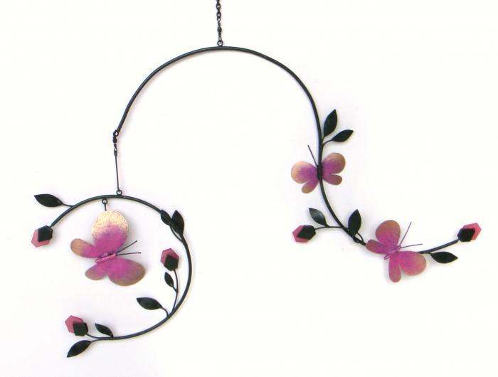Blue HandWorks Butterflies & Blossoms Mobile